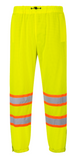 Portwest Yellow Mesh Overpants, Class E