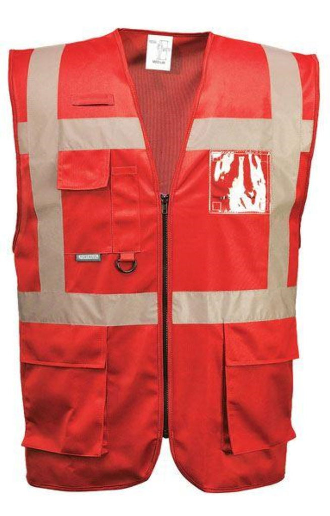 Portwest Iona Executive Vest Non-Rated Red