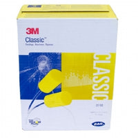 3M  Classic Earplugs, corded, 100 pair/box