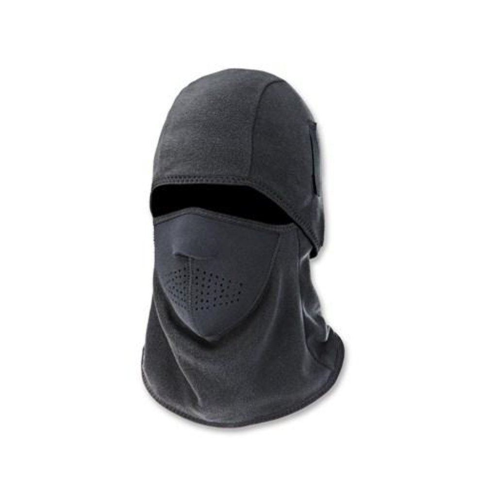 Ergodyne 6827 Balaclava Two Piece Fleece With Neoprene Mask- Black