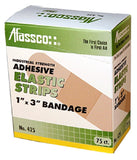 "Afassco 1"" X 3"" Elastic Strip Bandages"