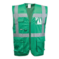 Portwest Iona Executive Vest Non-Rated Green