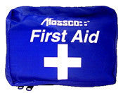 Soft Sided Blue Nylon First Aid Kit, Small
