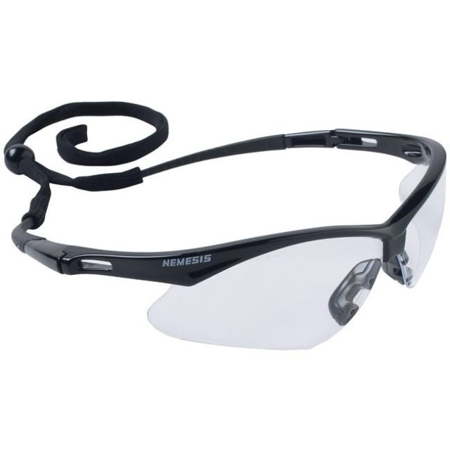 Nemesis Black Frame Indoor-Outdoor Mirror Lens