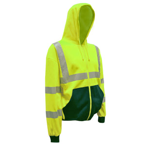Cordova Class 3 Hooded Sweatshirt, Lime