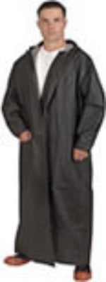 Cordova  2- Piece Raincoat, 60'' Black PVC/Poly 33mm
