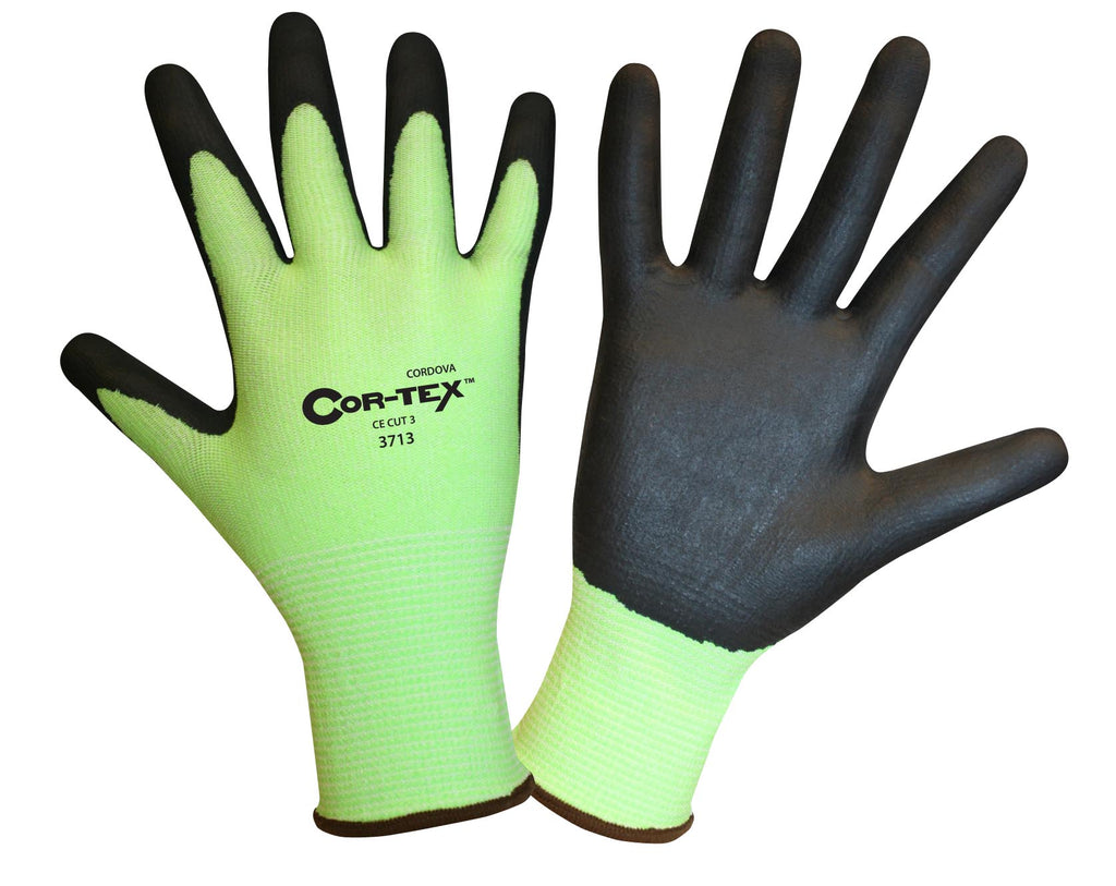Cordova Cor-Tex 13 Gauge, Cut 2 Gloves- Lime