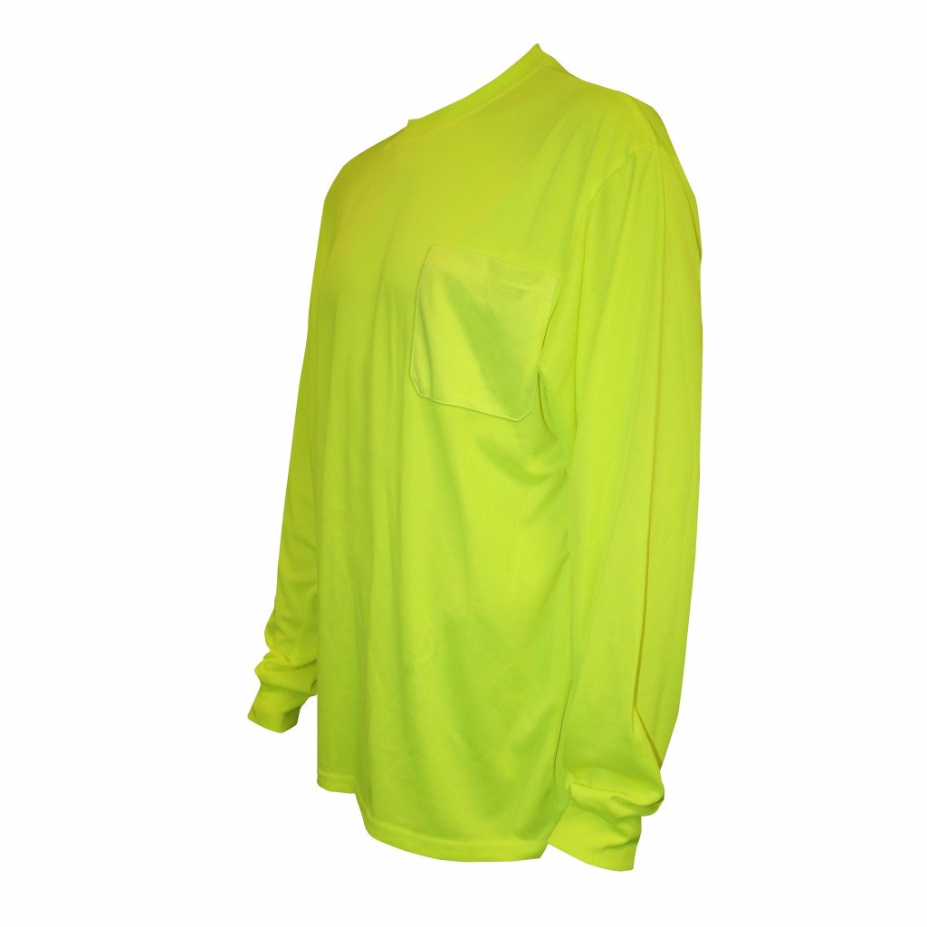Cordova Cor-Brite Non Rated Long Sleeve, Lime W/Pocket