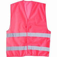 Portwest Iona 2 Band Vest Hi Vis Visibility Reflective Night Work Security Wear Safety