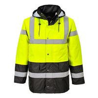 Portwest Class 3 Hi Vis Contrast Traffic Jacket US466