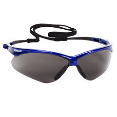 Nemesis Metallic Blue Frame w/Gray Anti-Fog Lens