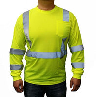 Cordova Cor-Brite Class-3 Lime Long Sleeve Shirt