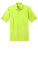 Port and Company Core Blend Safety Green Polo KP55