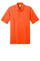Port and Company Core Blend Safety Orange Polo KP55