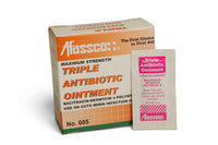 Afassco Triple Antibiotic Ointment, Unit dose,  6 box