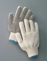Radnor String Knit PVC Glove, Dot One Side