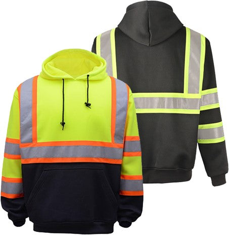 GSS Class 3 Two Tone Hooded Sweatshirt Lime
