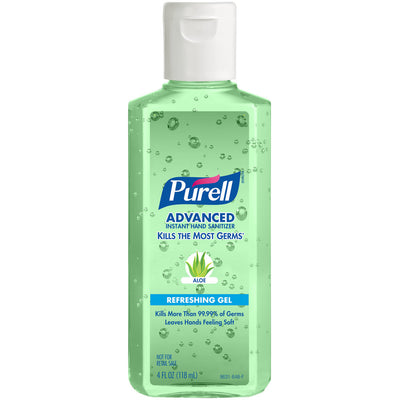 Purell Hand Sanitizer with Aloe 4oz.
