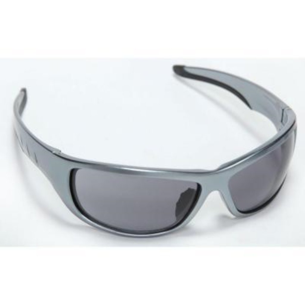 Cordova Aggressor Gun Metal Frame Grey Lens Safety Glasses