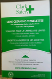 Lens Cleaning Towelettes 100/box
