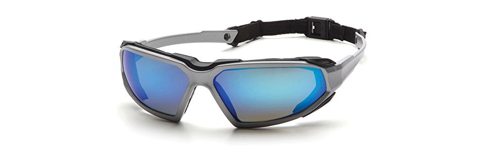Highlander Goggles Silver/Ice Blue Mirror