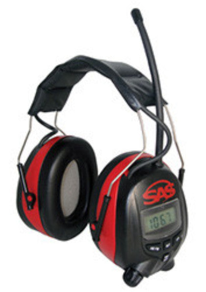 SAS Safety Earmuffs, Digital AM/FM Radio