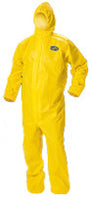 A70 Chem. Coverall Yellow 2XL 12/cs