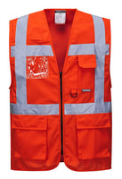 Portwest Class 2 Berlin Executive Vest- Orange