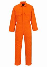 Portwest Bizweld Flame Resistant Coverall Orange 9.5 OZ