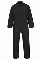 Portwest Bizweld Flame Resistant Coverall Black 9.5 OZ