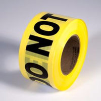 Caution - DO NOT ENTER - Barricade Tape, Yellow/Black