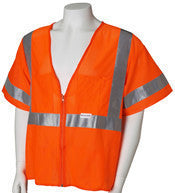 Class 3 Lime Mesh Deluxe Vest