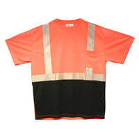 Cordova Cor-Brite Class II Short Sleeve Shirt - Orange
