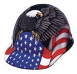 Fibre Metal Eagle Hardhat with Ratchet Suspension