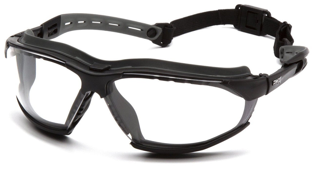 Pyramex Isotope Safety Glasses, Clear  H2Max Ant-Fog Lens