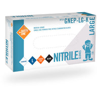 Safety-Zone Nitrile Black PF 4.3Mil