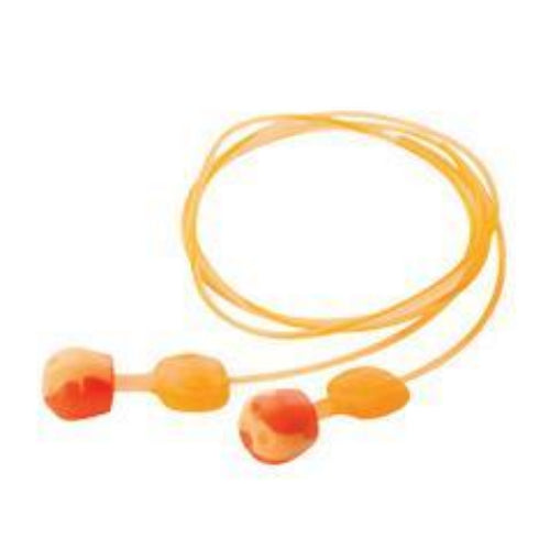 Honeywell Howard Leight- Trust Fit Pod Push-to-Fit Foam Corded Earplugs-