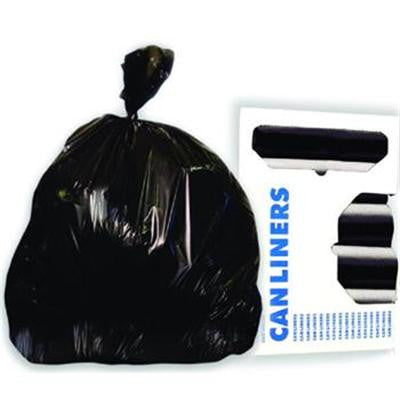 Hi Density Liners 43''x 47Gal 150/Case Black