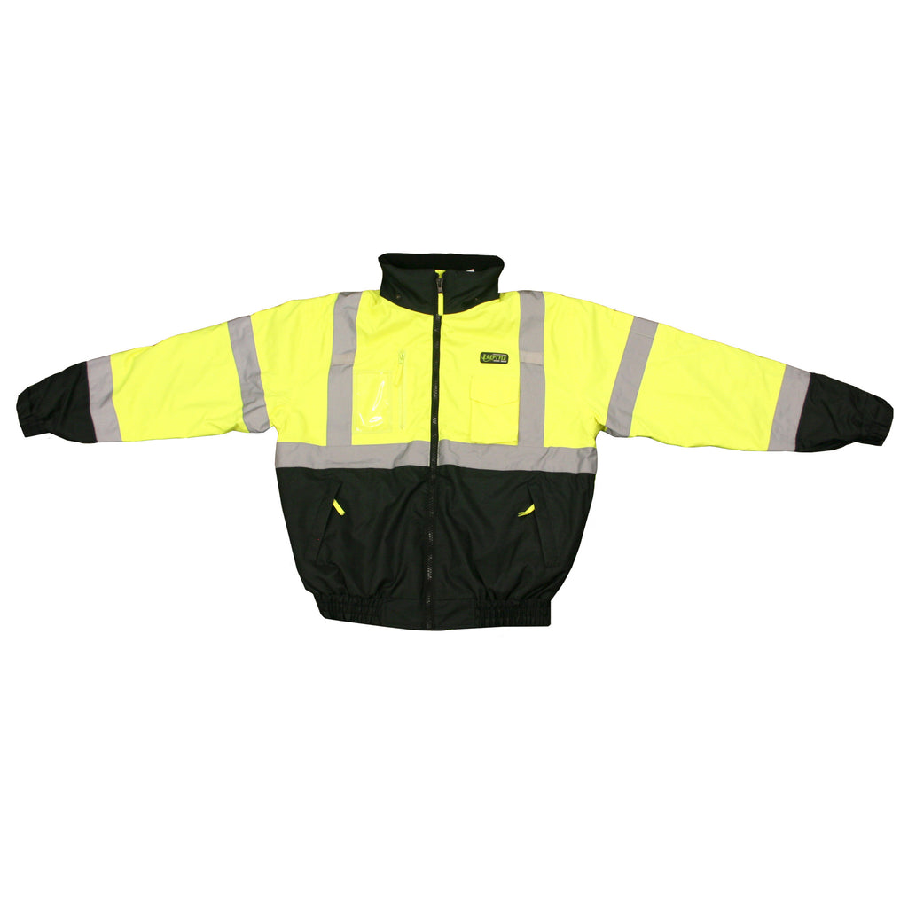 Cordova Hi-Vis 3-in-1 Hi Vis Lime Bomber Jacket Class 3