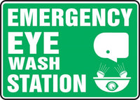 Emergency Eyewash Sign 10
