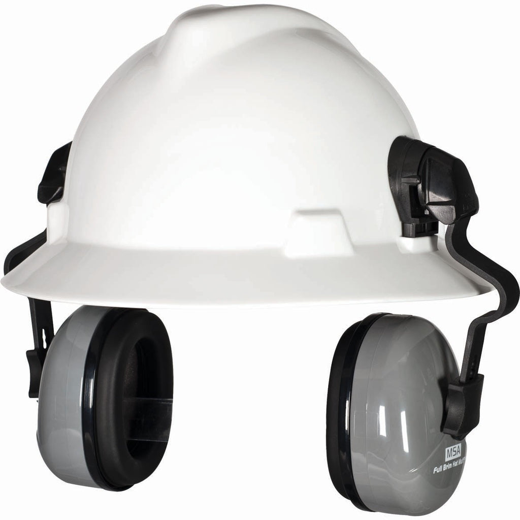 MSA  Ear Muff for  V- Gard Full Brim Hardhats, NRR 25