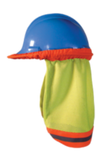 Occunomix High Visibility  Mesh Hard Hat Shade, Lime