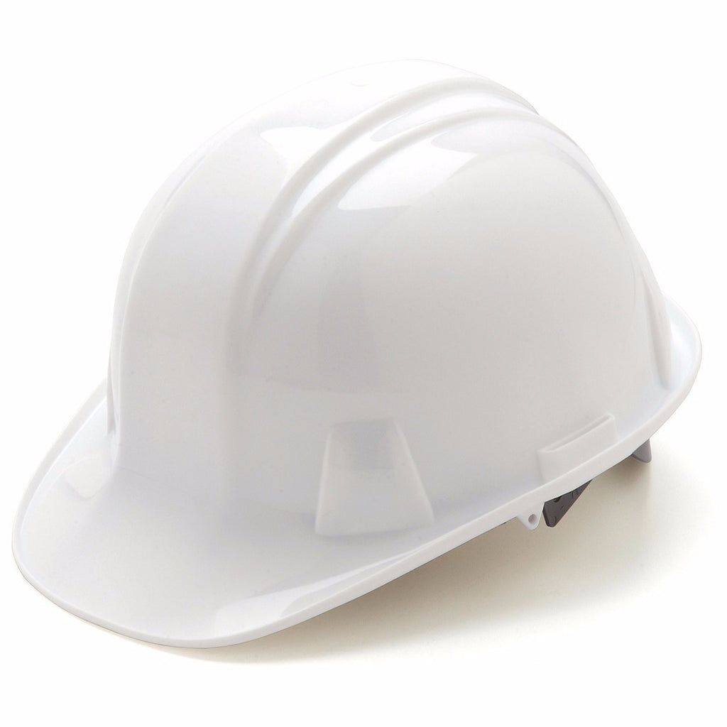 Pyramex Standard Cap Style Hard Hat 4 Point Ratchet Suspension