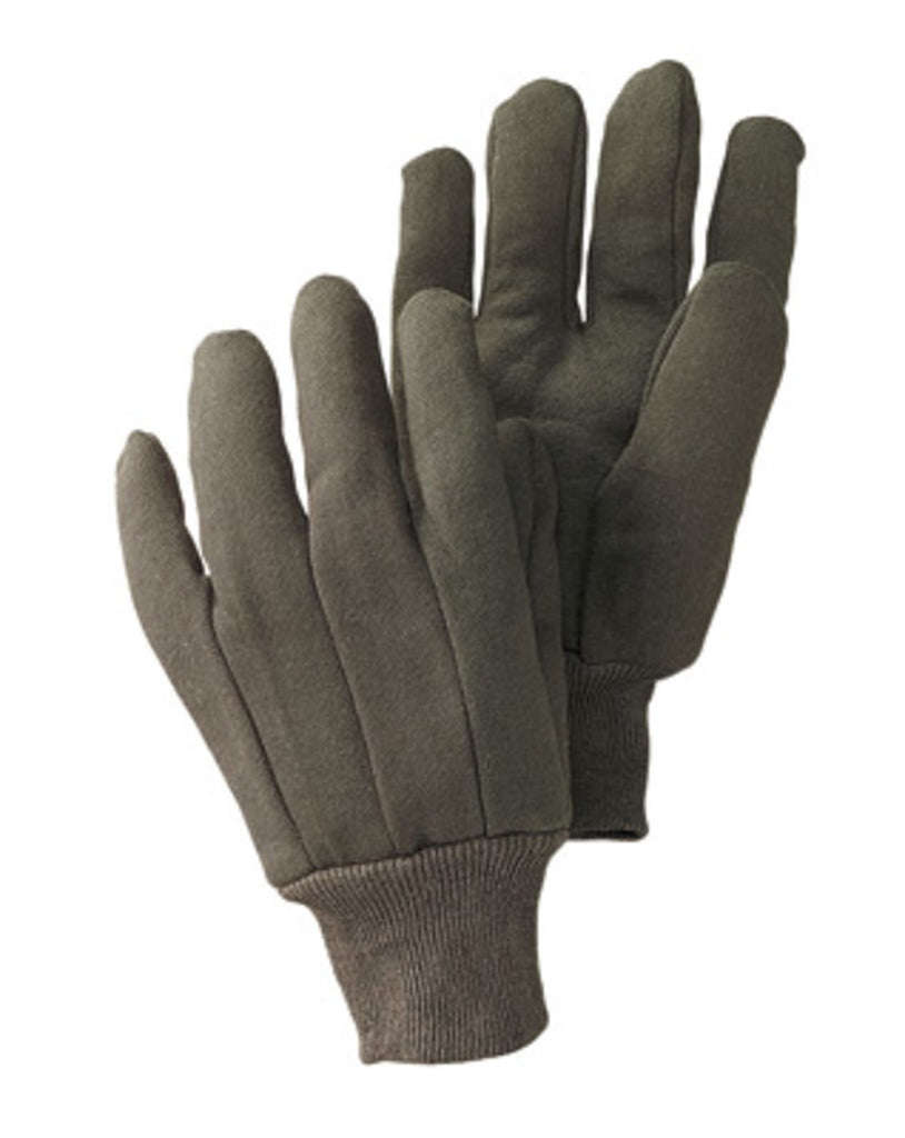 Radnor Brown Jersey Gloves 100% Cotton 9 oz