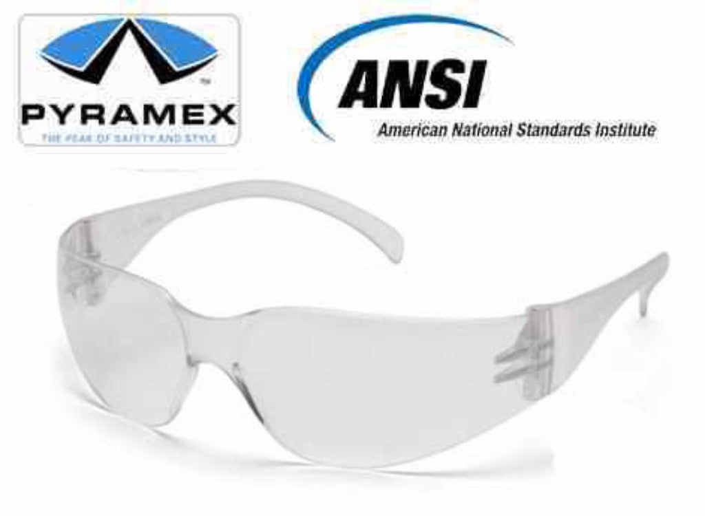 Pyramex Intruder Reader 2.5 Magnification Clear Safety Glasses