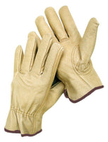 Grain Pigskin Drivers Gloves