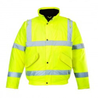 Portwest S463 Hi-Vis Bomber Jacket - Waterproof Work