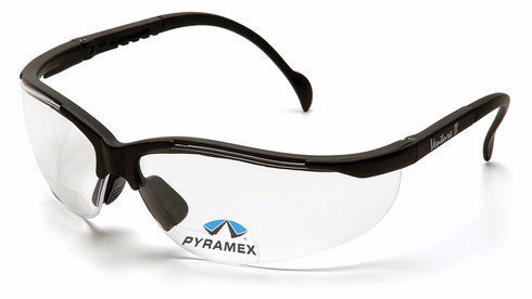Pyramex Venture II Reader +1.0 Clear Safety Glasses