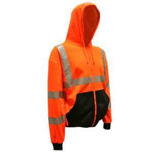 Cordova Class 3 Hooded Sweatshirt, Orange