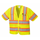Portwest Yellow Augusta Two Tone Vest, Class 3
